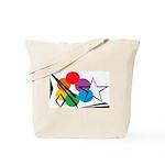 Rainbow Light Sky Tote Bag