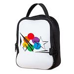 Rainbow Light Sky Neoprene Lunch Bag