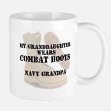 NavyGrandpa Granddaughter wears CB Mugs