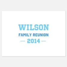Make Your Own Blue Family Reunion Invitations