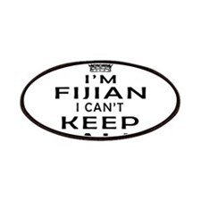 I Am Fijian I Can Not Keep Calm Patches