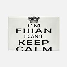 I Am Fijian I Can Not Keep Calm Rectangle Magnet