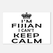I Am Fijian I Can Not Keep Calm Postcards (Package