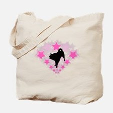 Karelian Bear Dog Tote Bag