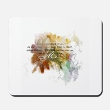 Abide in Me Mousepad