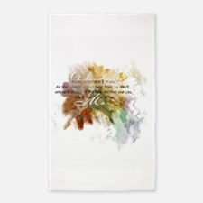 Abide in Me 3'x5' Area Rug
