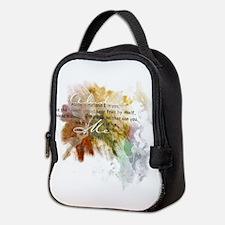 Abide in Me Neoprene Lunch Bag