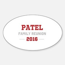 Template Red Family Reunion Decal