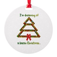 Dreaming Bacon Ornament