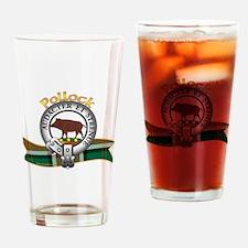 Pollock Clan Drinking Glass