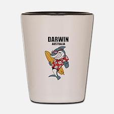 Darwin, Australia Shot Glass
