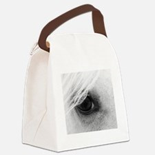 Horse Eye Canvas Lunch Bag