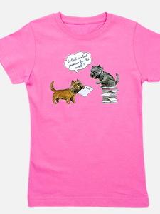 Cairn Terrier Premium Girl's Tee
