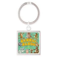 Mammal Mambo Square Keychain