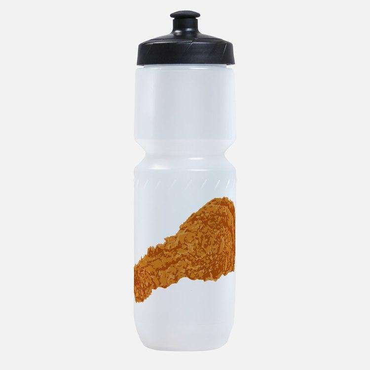 Fried Chicken Sports Bottle
