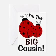 imtheBIGcousin_ladybug2 Greeting Card