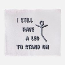 I STILL HAVE A LEG TO STAND ON SILVER ON DROP SHA