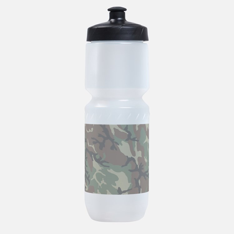 Camouflage Pattern Sports Bottle