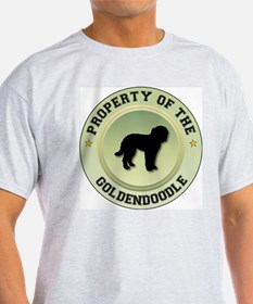 Goldendoodle Property Ash Grey T-Shirt