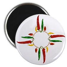 Chile pepper zia symbol Magnet