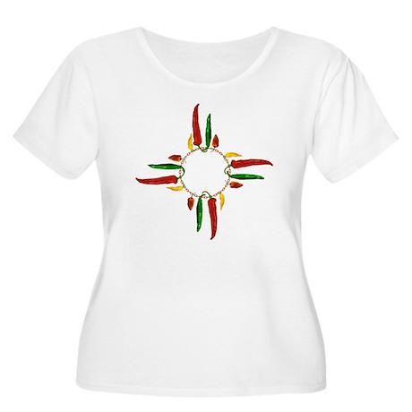 Chile pepper Women's Plus Size Scoop Neck T-Shirt