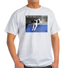 Why Run When You Can FLY photo M. Lifer T-Shirt