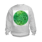 Celtic Triskele Kids Sweatshirt