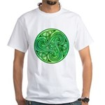 Celtic Triskele White T-Shirt