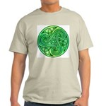 Celtic Triskele Ash Grey T-Shirt