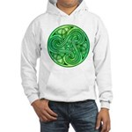 Celtic Triskele Hooded Sweatshirt