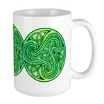 Celtic Triskele Large Mug