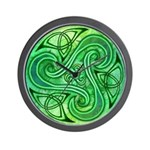 Celtic Triskele Wall Clock