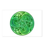 Celtic Triskele Postcards (Package of 8)