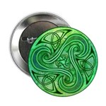 Celtic Triskele Button