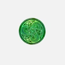 Celtic Triskele Mini Button