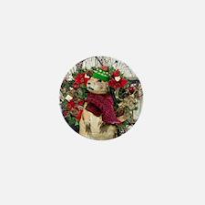 Christmas Prairie dog Mini Button