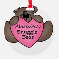snuggle bear Ornament