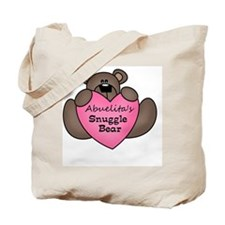 snuggle bear Tote Bag