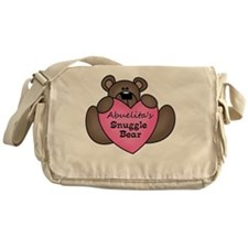 snuggle bear Messenger Bag