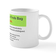 Finds bag 1 Mug