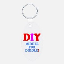DIY - MIDDLE FOR DIDDLE! Keychains