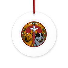 CPACDC-DarkShirt Round Ornament