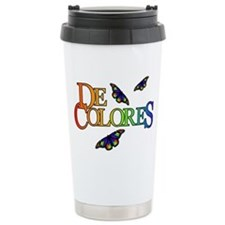 DeColores Notecard Travel Mug
