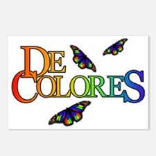 DeColores Notecard Postcards (Package of 8)