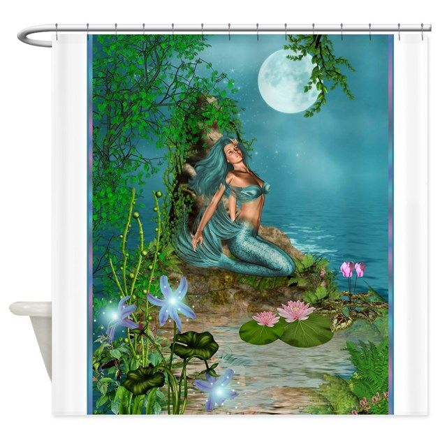 Best Seller Merrow Mermaid Shower Curtain By The Jersey