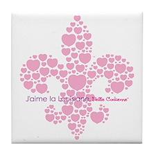 Belle Cadienne Jaime Louisiane Tile Coaster