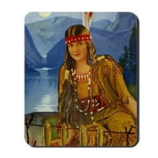 INDIAN MAIDEN Mousepad