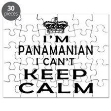 I Am Panamanian I Can Not Keep Calm Puzzle