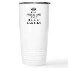 I Am Panamanian I Can Not Keep Calm Travel Mug