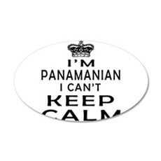 I Am Panamanian I Can Not Keep Calm Wall Decal